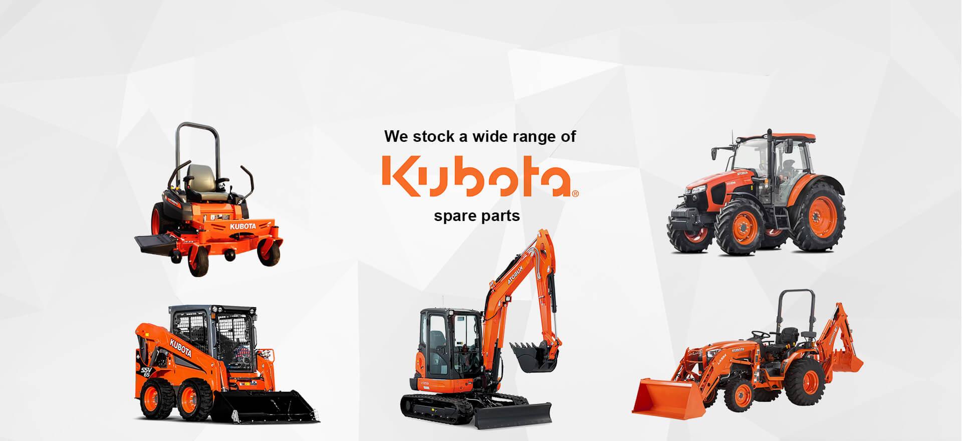 Kubota Engine Parts, Kubota Tractor Parts