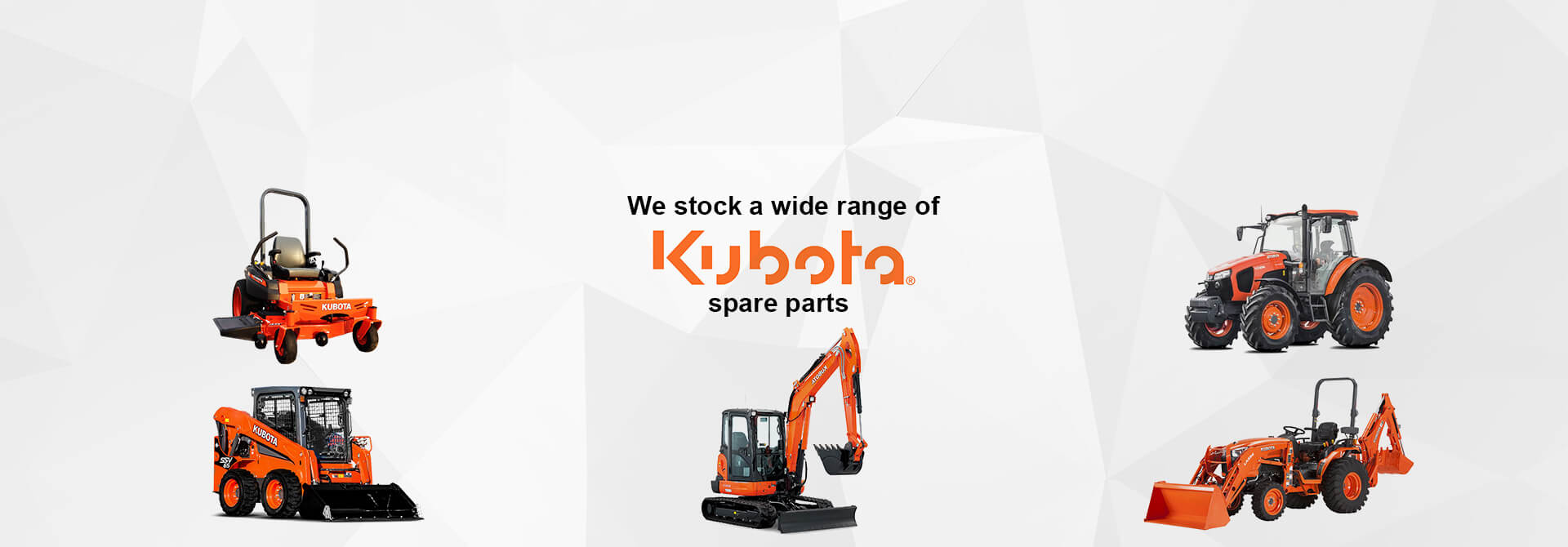 Kubota Engine Parts, Kubota Tractor Parts