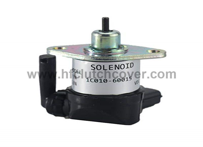ASSY SOLENOID 1C010-60016 1C010-60017 for Kubota Tractor M8540 M9540 V3300 V3600 V3800 diesel engine
