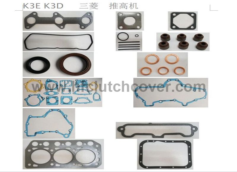 Gasket set for Mitsubishi  K3E K3D