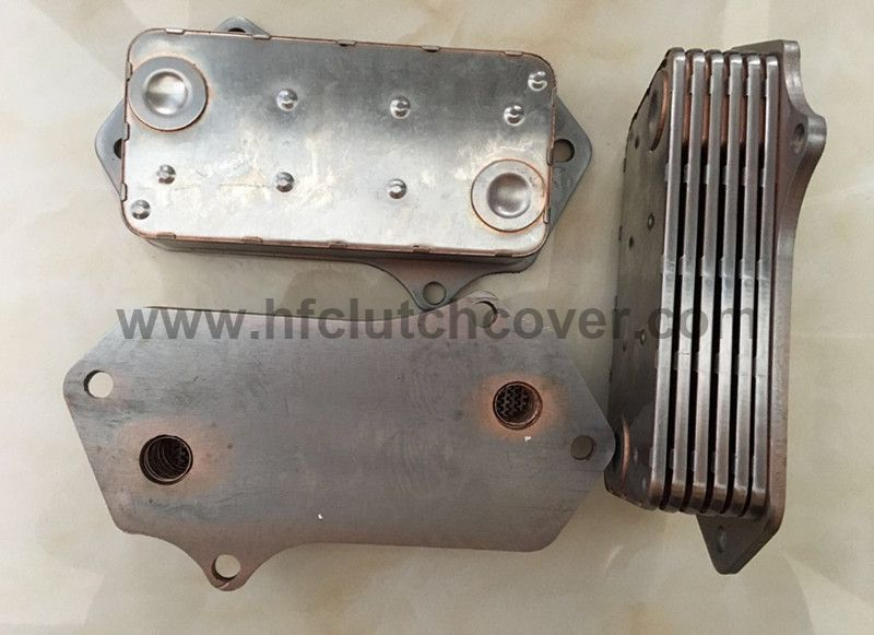 Oil cooler for JCB